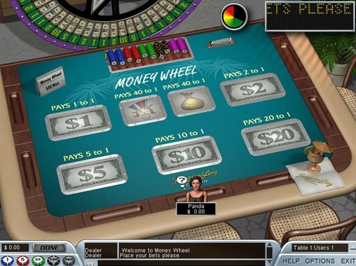 Money Wheel (Money Wheel) from category Table and Card Games