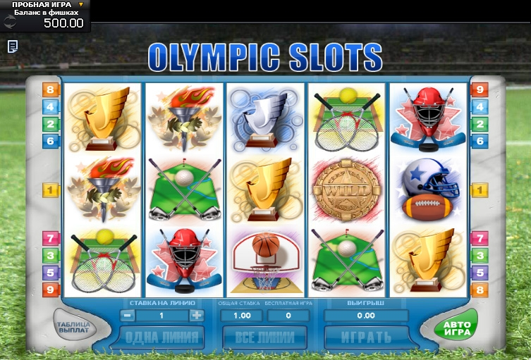 Olympic Slots (Olympic Slots) from category Slots