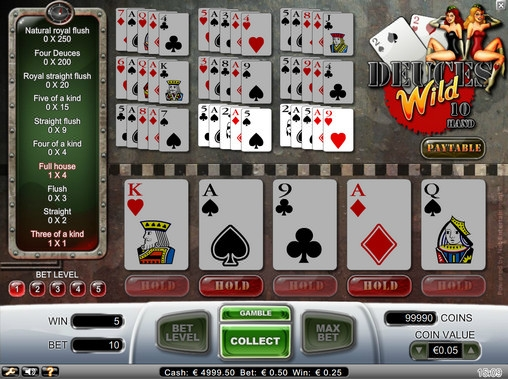 Deuces Wild (Deuces Wild) from category Video Poker