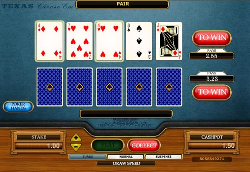 Choose 'Em Poker (Choose 'Em Poker) from category Poker