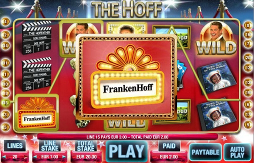 The Hoff (The Hoff) from category Slots
