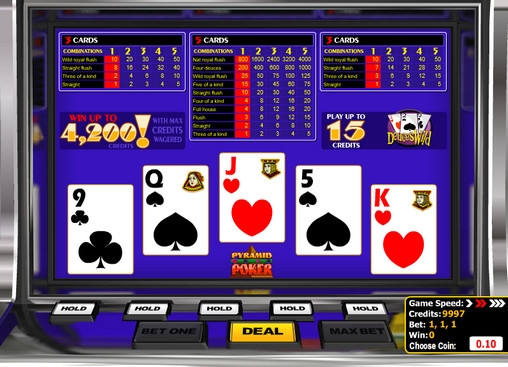 Deuces Wild Pyramid Poker (Deuces Wild Pyramid) from category Video Poker
