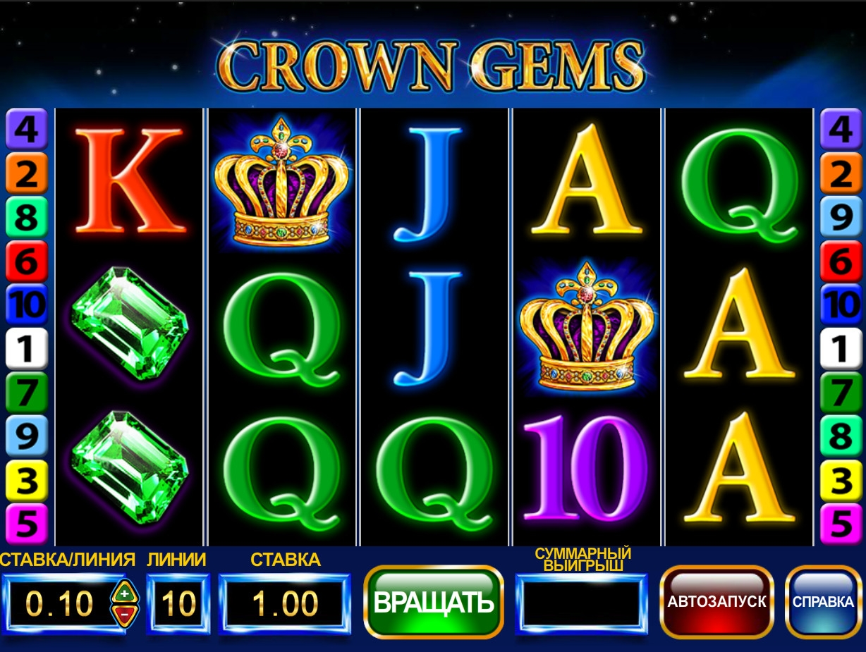 Crown Gems (Crown Gems) from category Slots