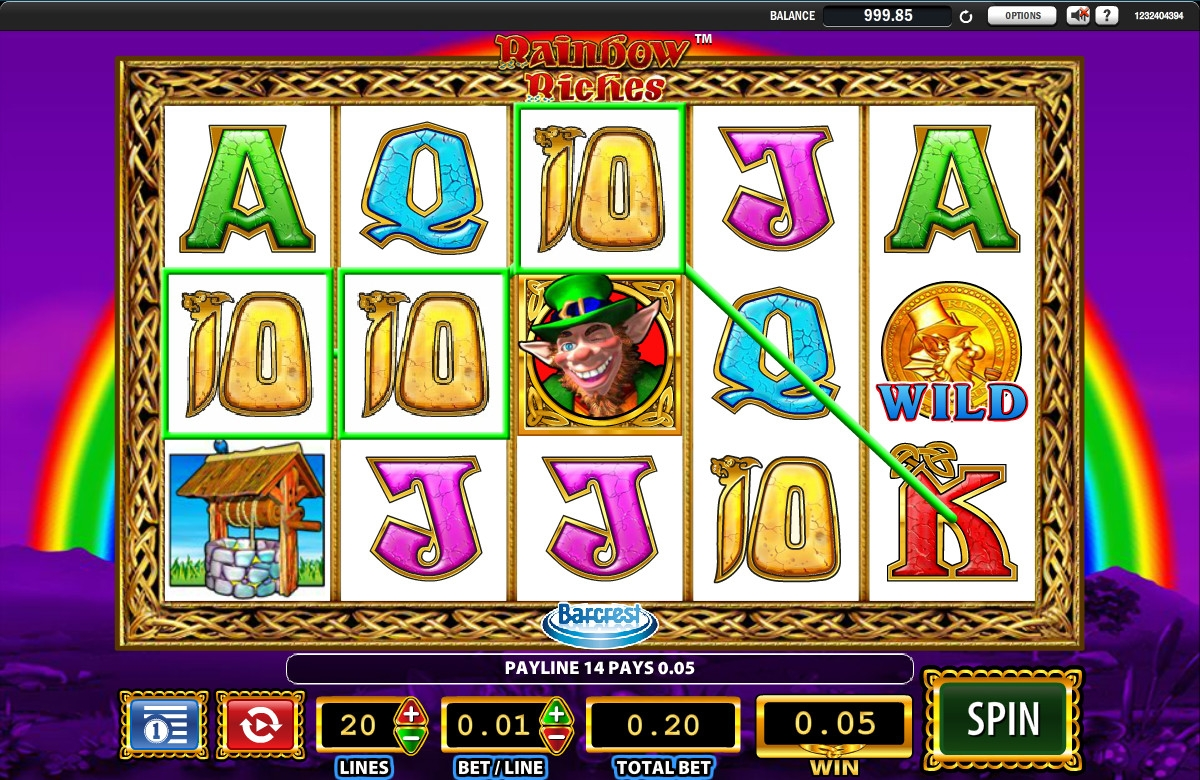 Rainbow Riches (Rainbow Riches) from category Slots