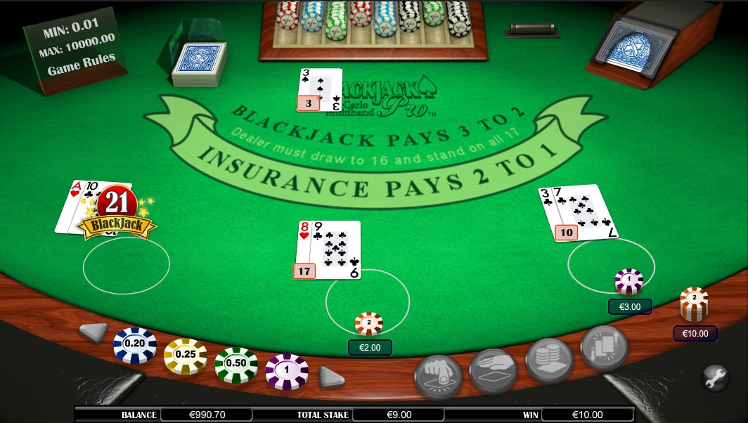 Blackjack Pro Monte Carlo (Blackjack Pro Monte Carlo) from category Blackjack