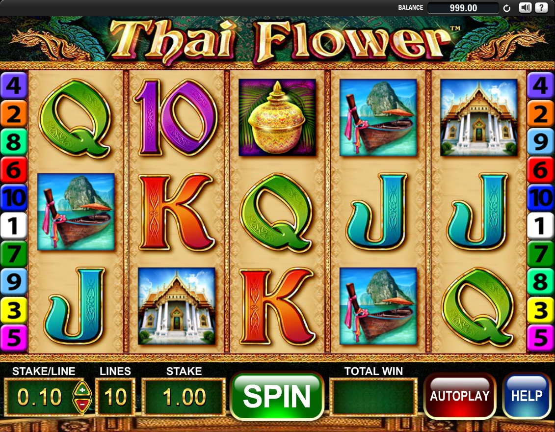 Thai Flower (Thai Flower) from category Slots
