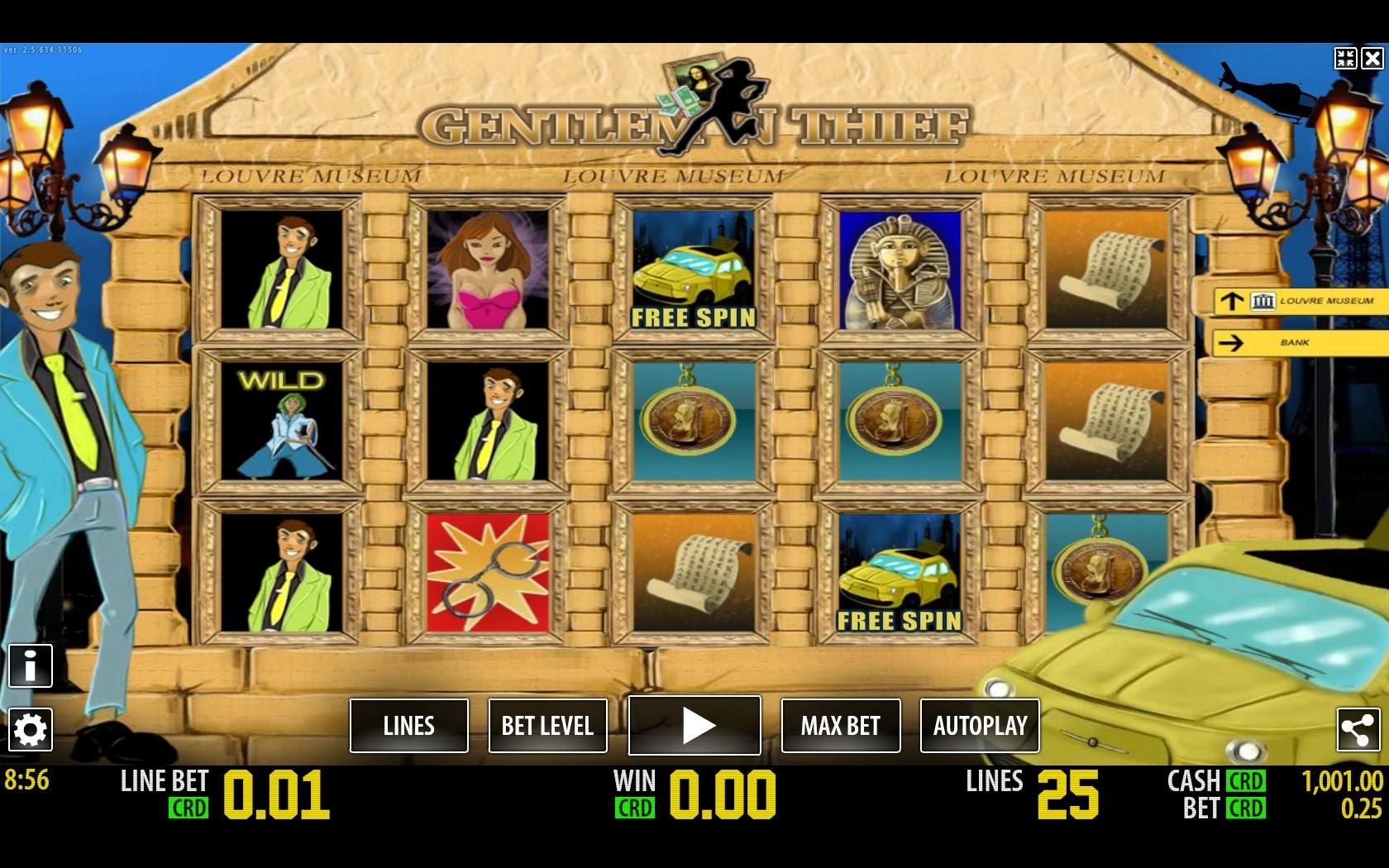 Игровые автоматы Thief Вор играть бесплатно без регистрации