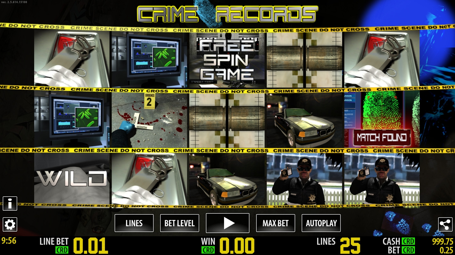 Crime Records (Crime Records) from category Slots