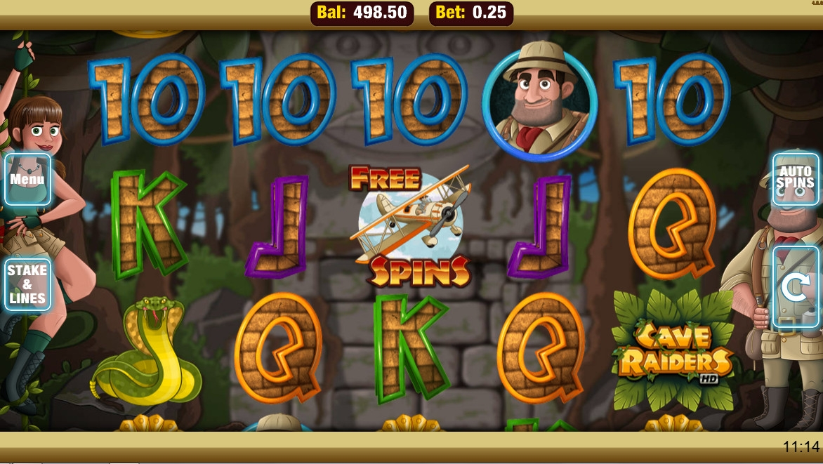 Cave Raiders HD (Cave Raiders HD) from category Slots