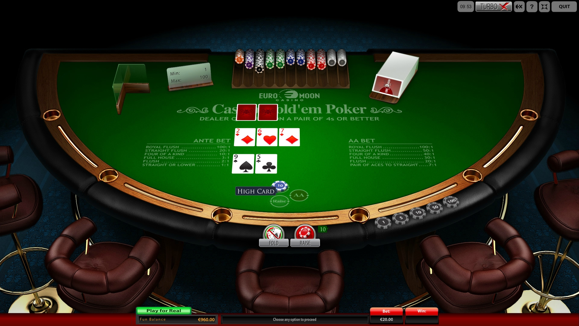 CasinoHold'em Poker (Casino Hold'em Poker) from category Poker