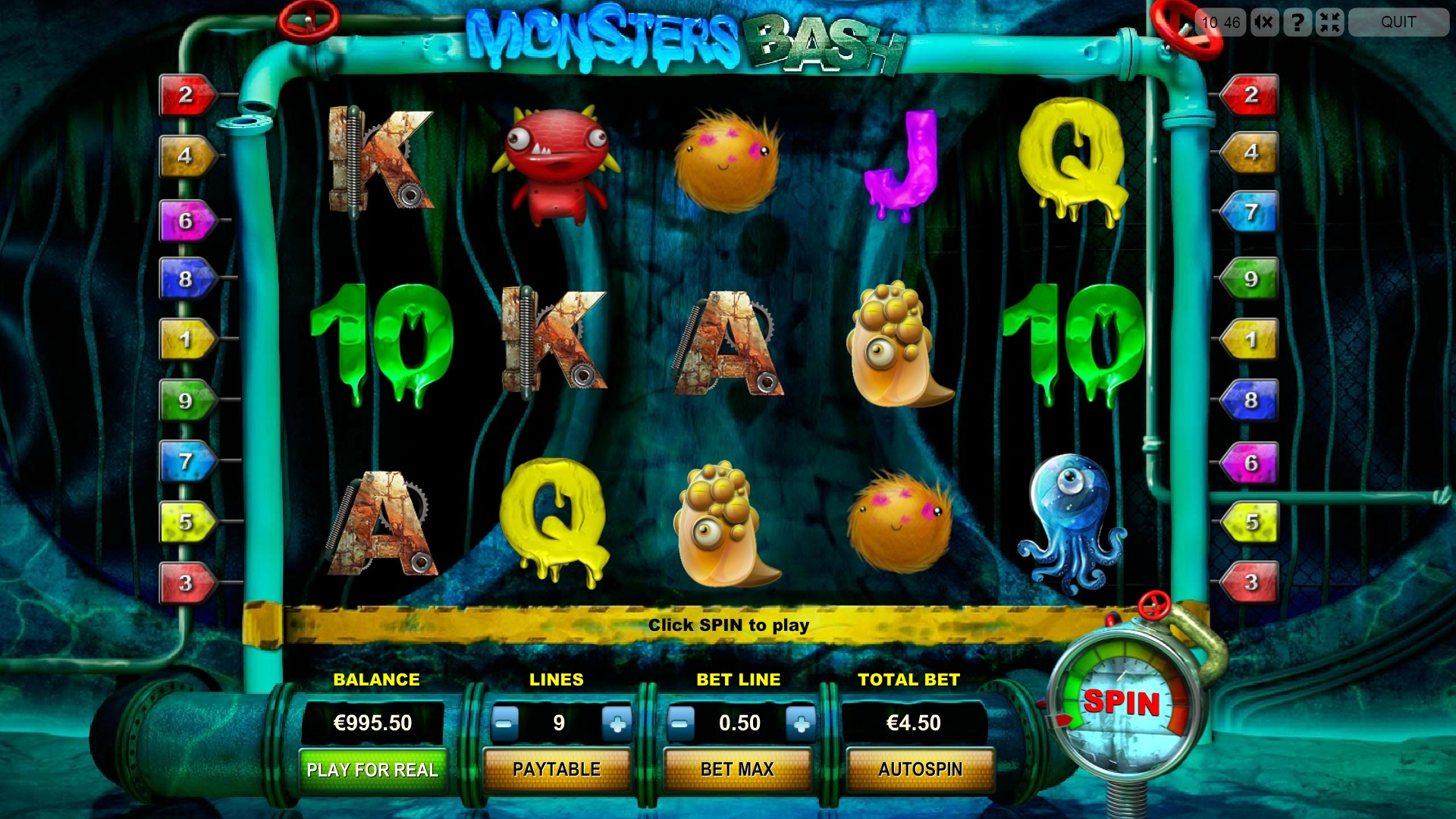 Monsters Bash (Monsters Bash) from category Slots