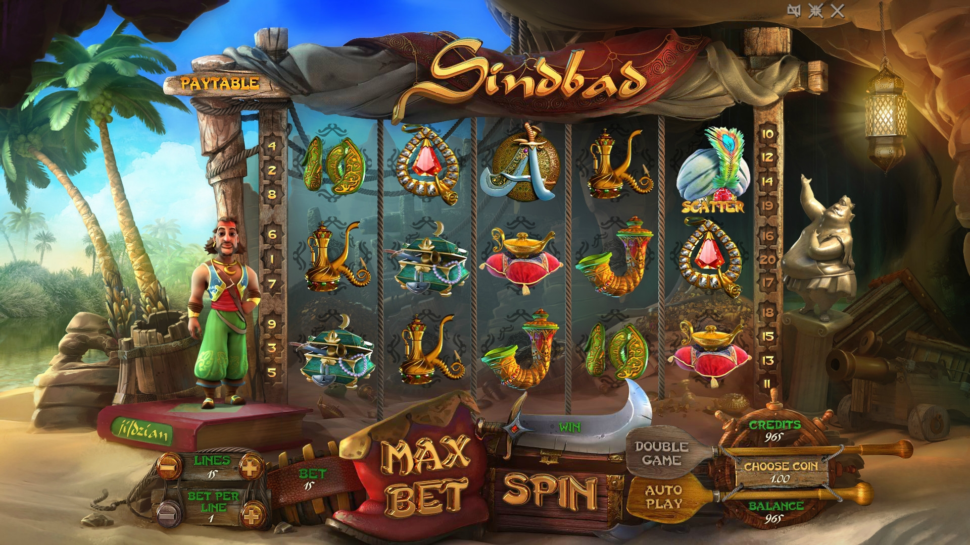 Sindbad (Sindbad) from category Slots