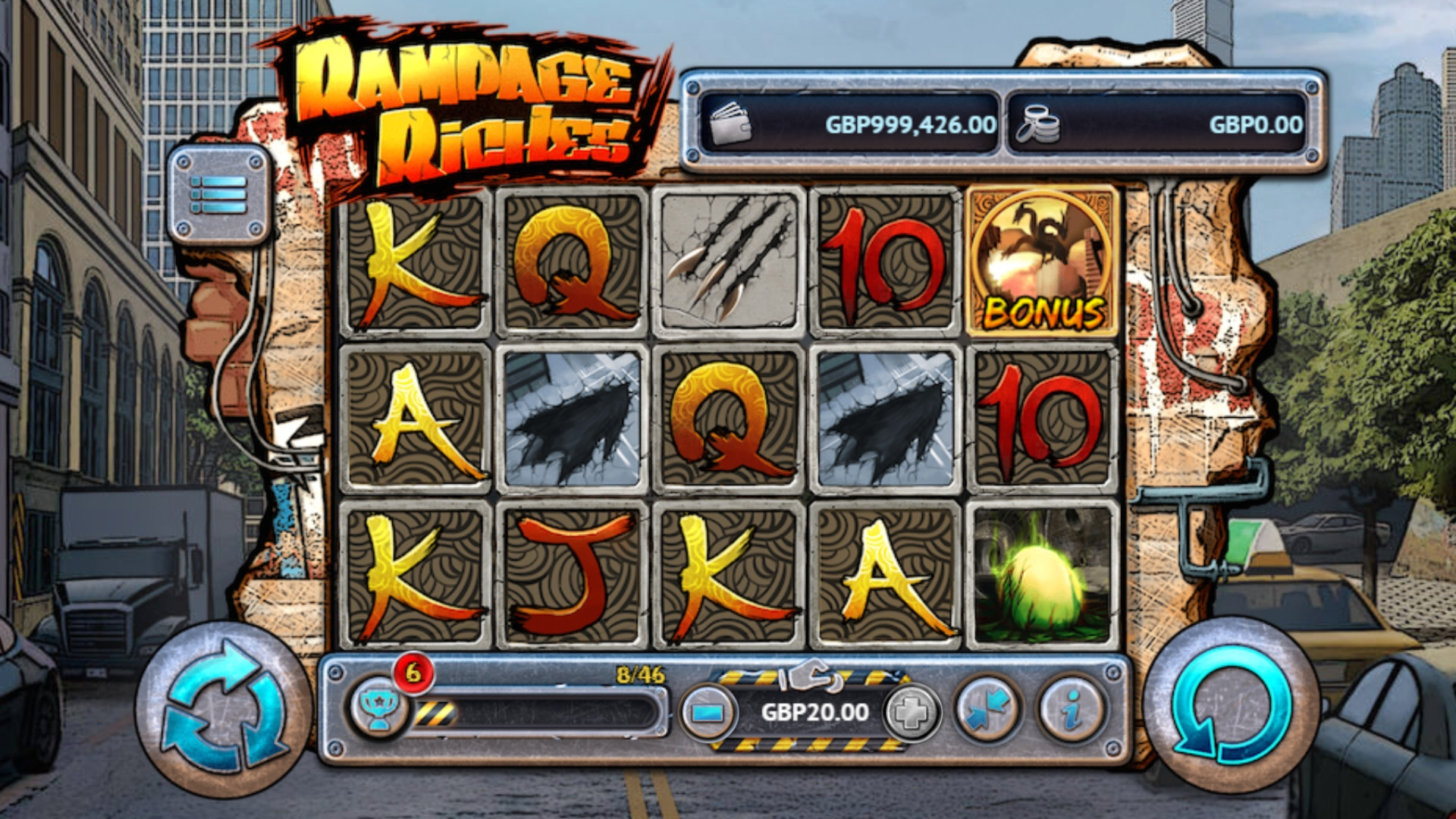 Rampage Riches (Rampage Riches) from category Slots