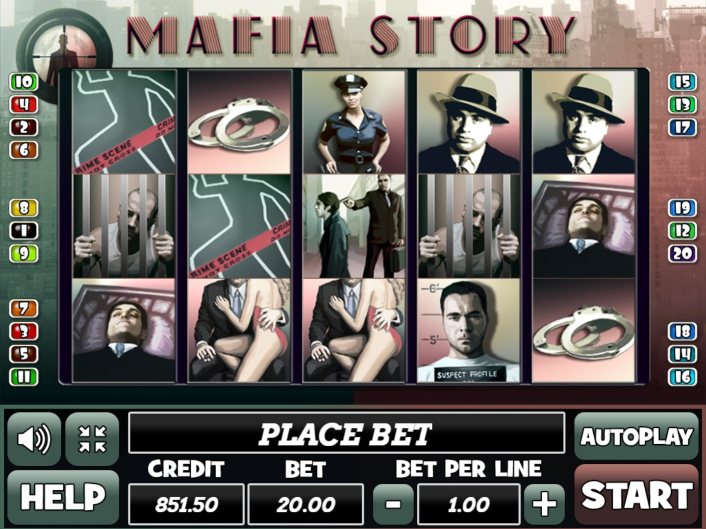 Mafia Story (Mafia Story) from category Slots