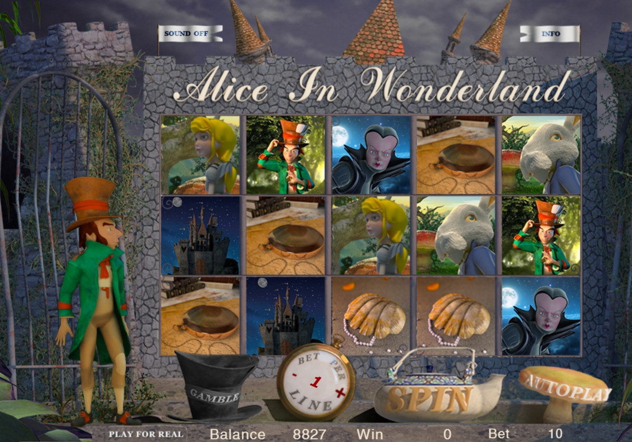 Alice in Wonderland (Alice in Wonderland) from category Slots