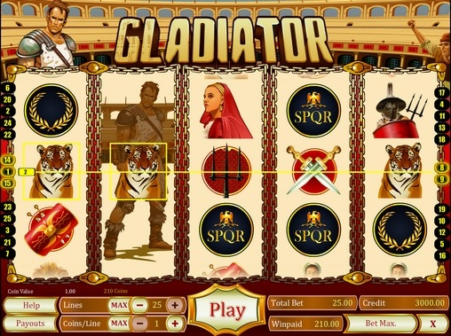 Gladiator  (Gladiator) from category Slots