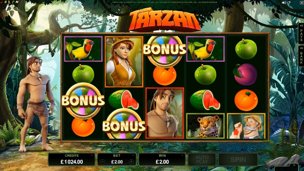 Tarzan (Tarzan) from category Slots