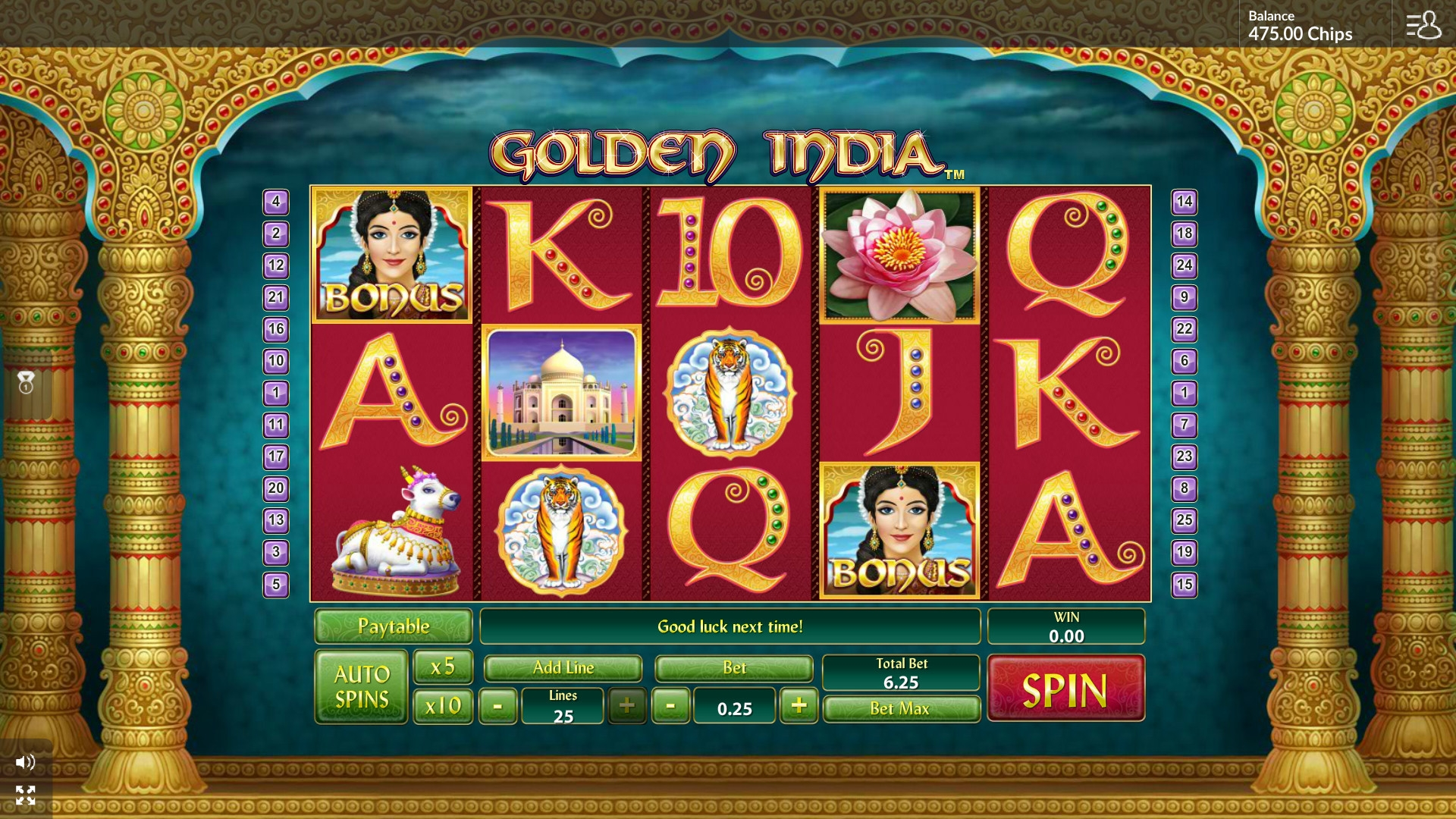 Golden India (Golden India) from category Slots