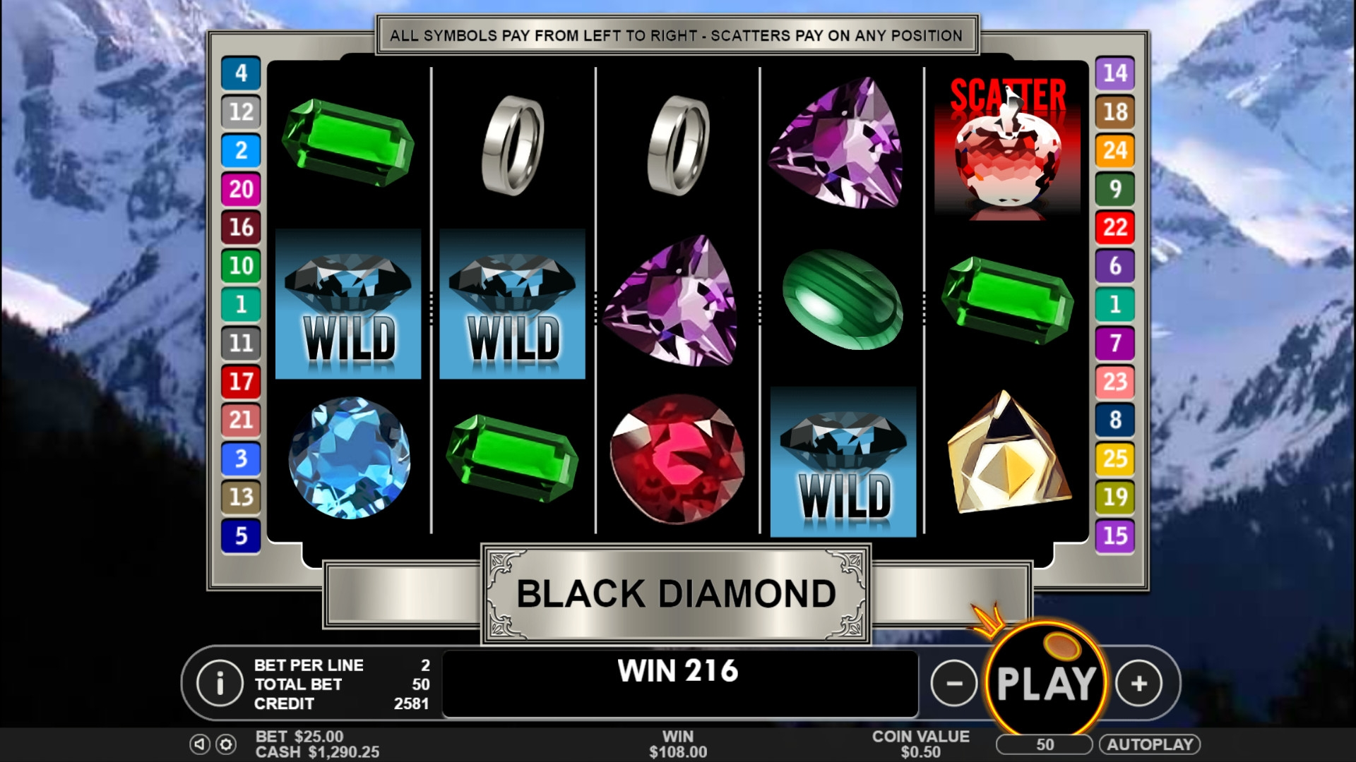 Black Diamond (Black Diamond) from category Slots