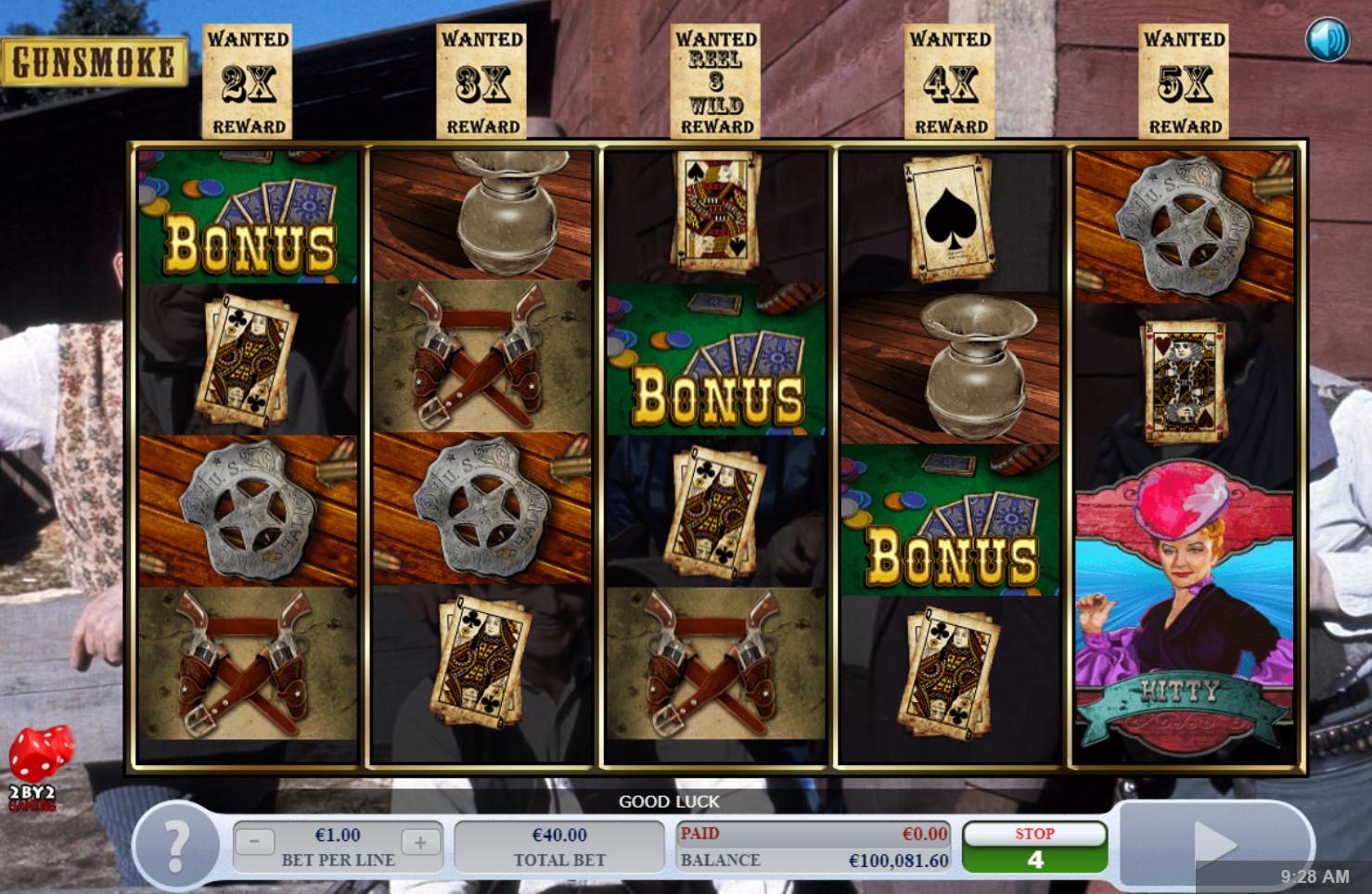 Gunsmoke Slot Machine
