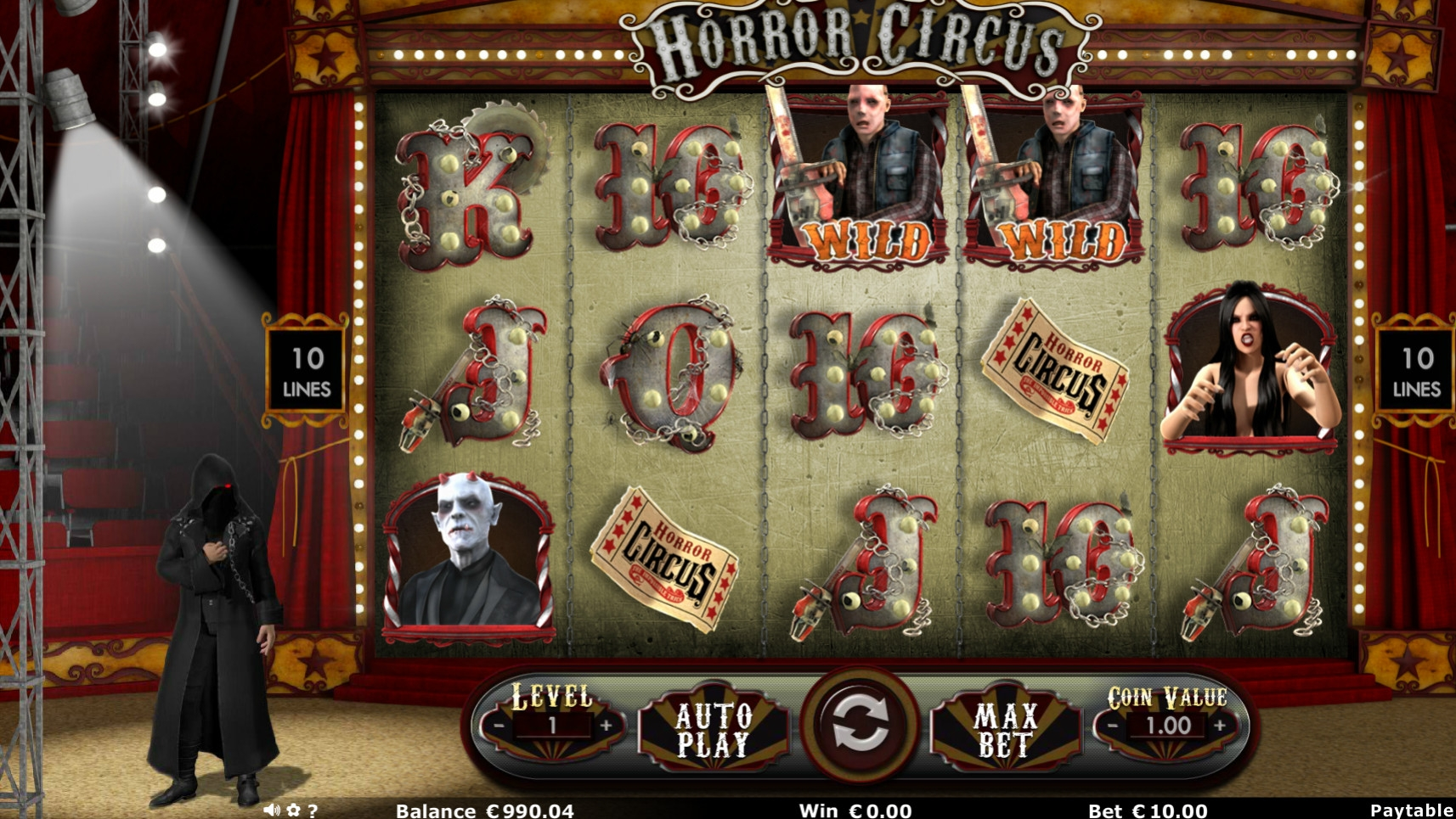 Horror Circus (Horror Circus) from category Slots
