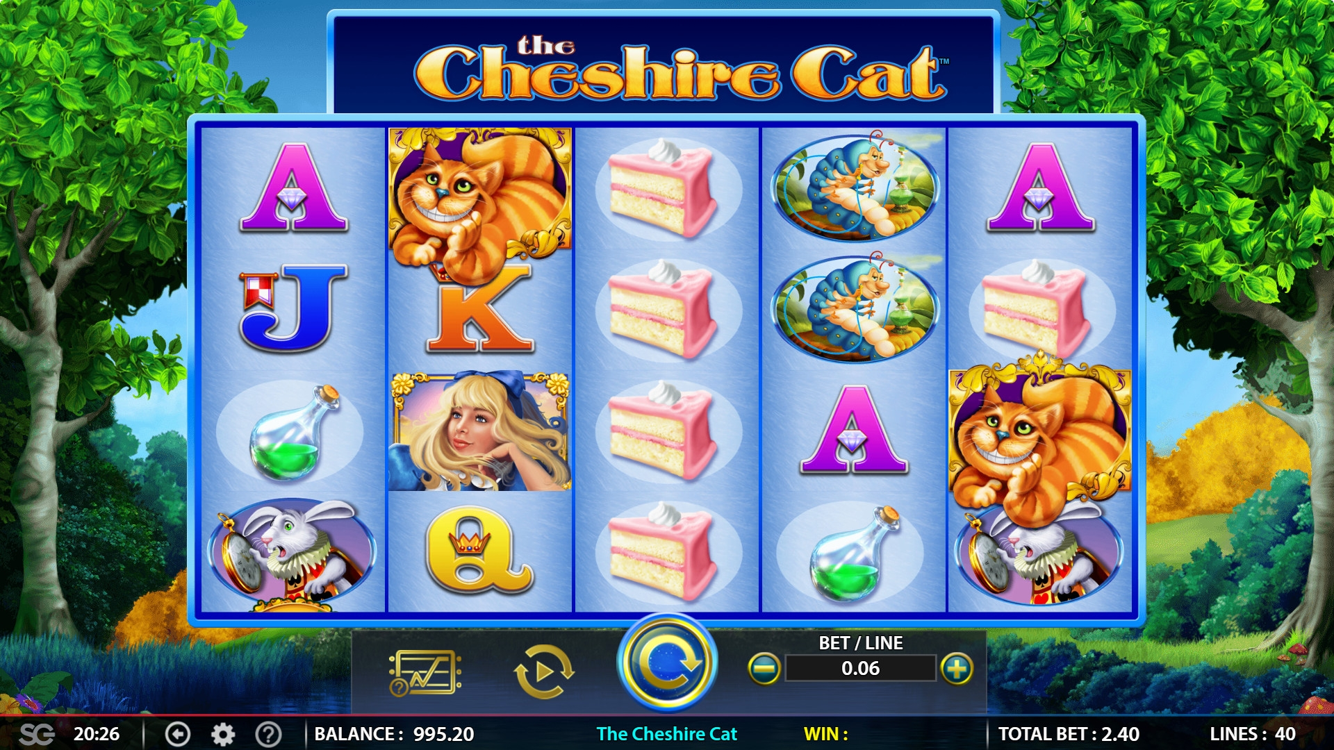 The Cheshire Cat (The Cheshire Cat) from category Slots
