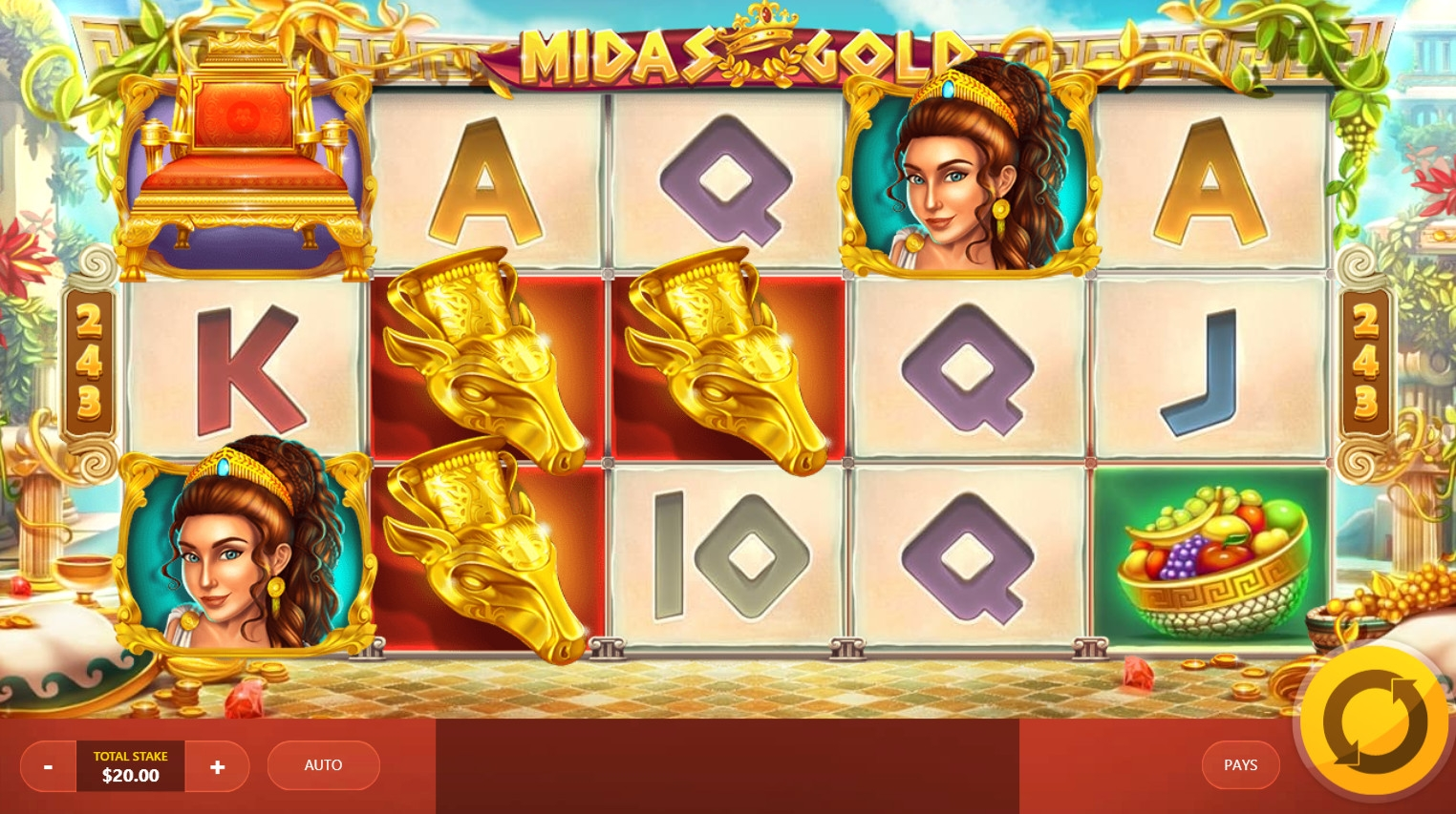 The Legends of Greece Slots with No Download