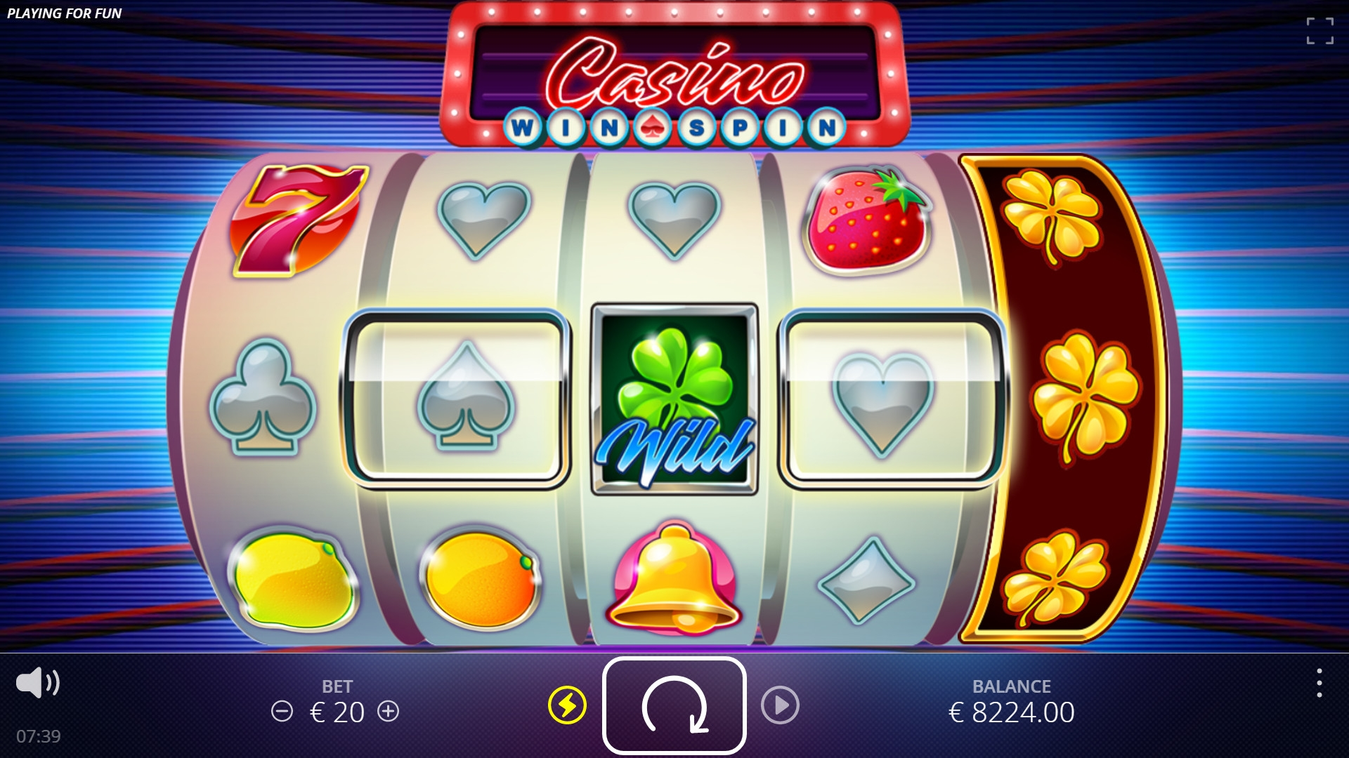 Casino Win Spin (Casino Win Spin) from category Slots