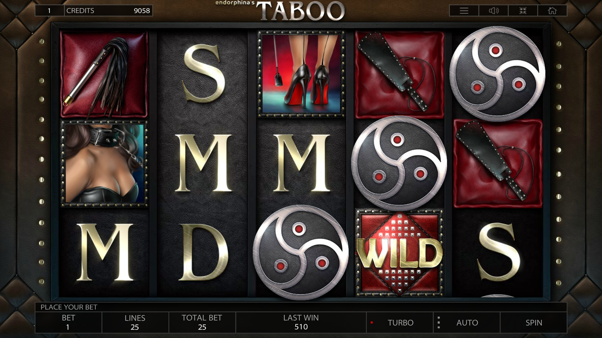 Taboo (Taboo) from category Slots