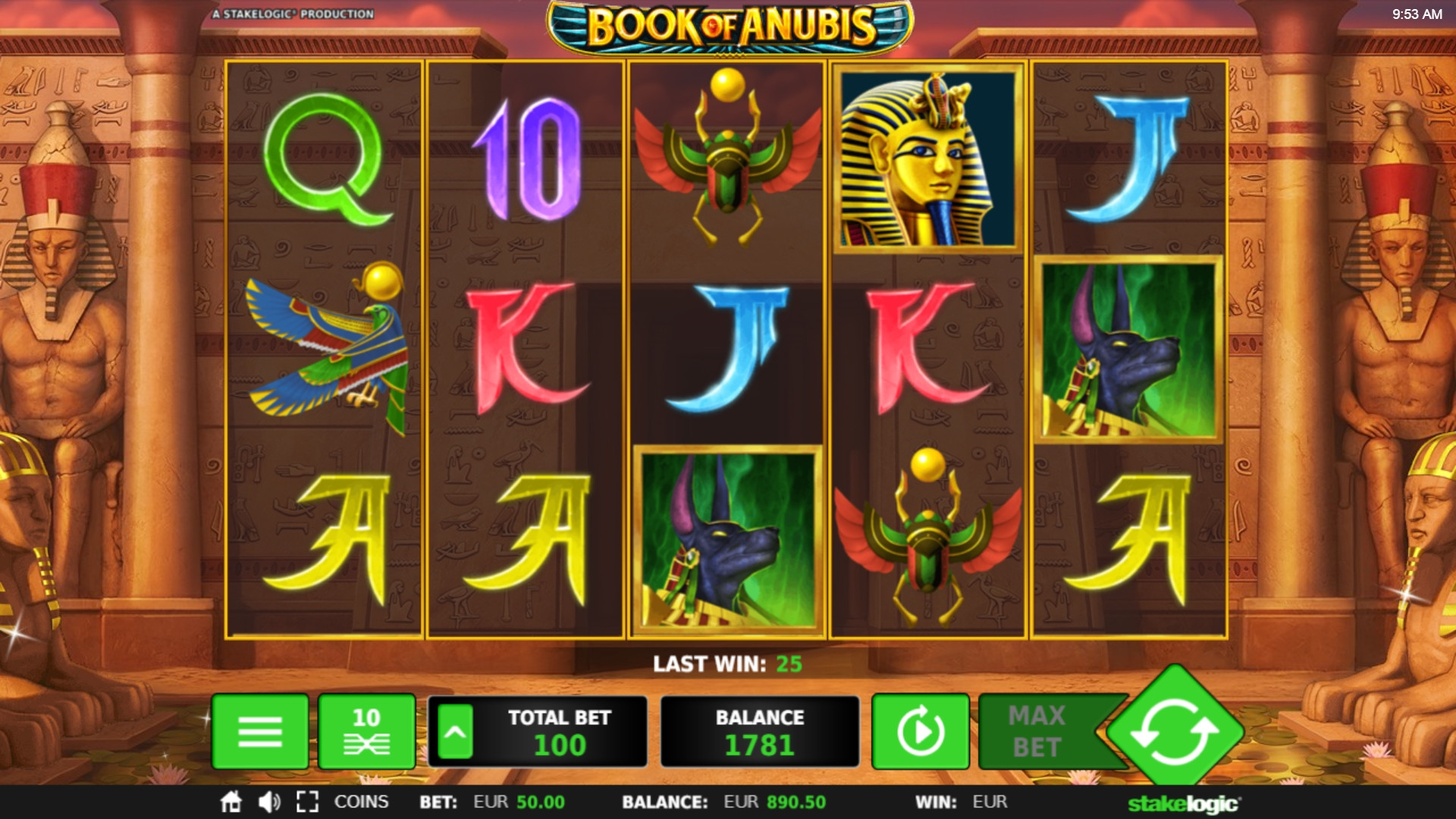 Anubis Slot Machine Review & Free Instant Play Casino Game