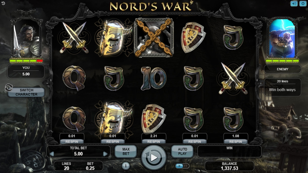 Nord's War (Nord's War) from category Slots