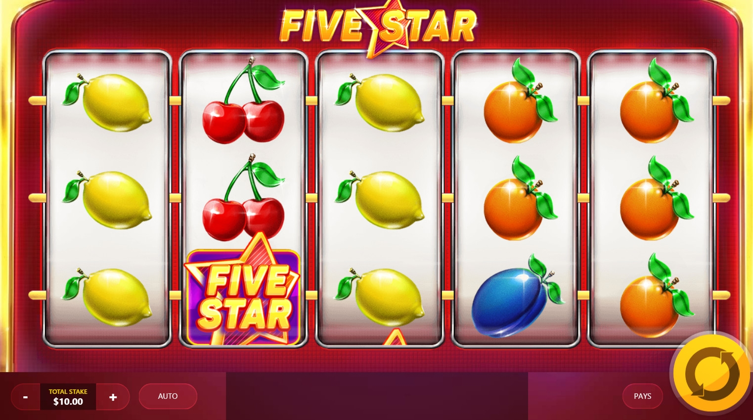 Five Star (Five Star) from category Slots