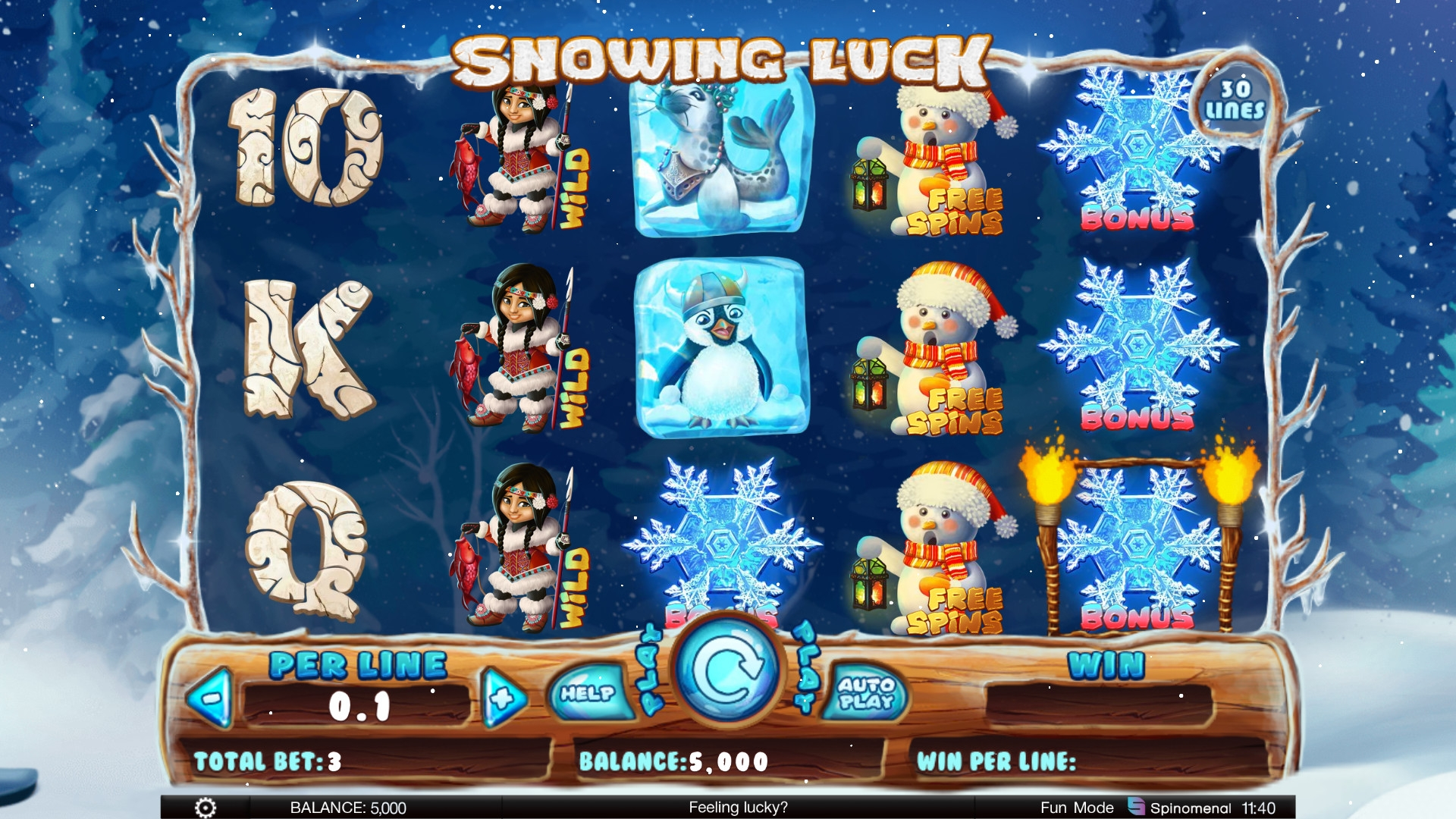 Snowing Luck (Snowing Luck) from category Slots