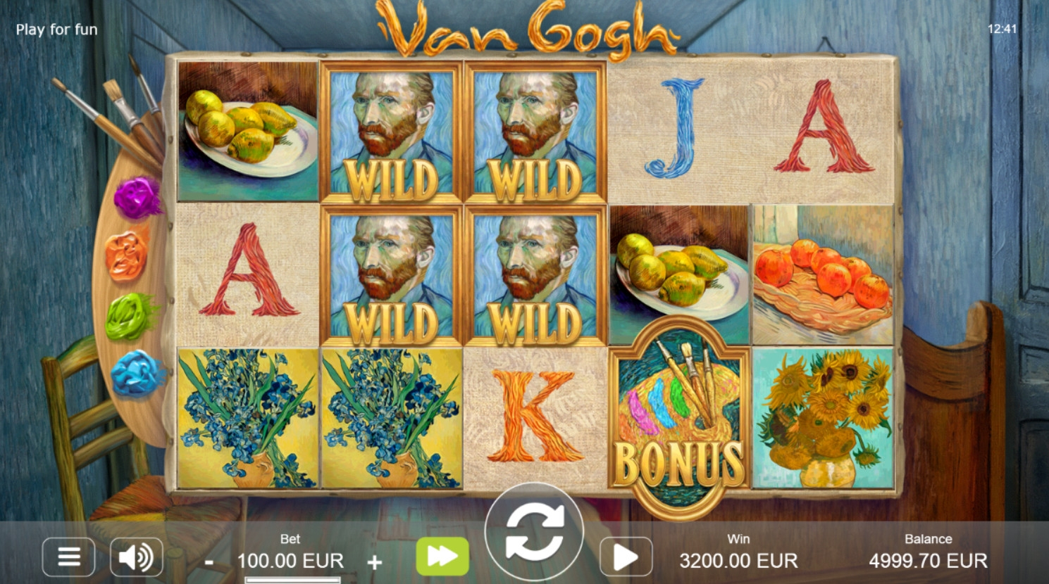 Van Gogh (Van Gogh) from category Slots