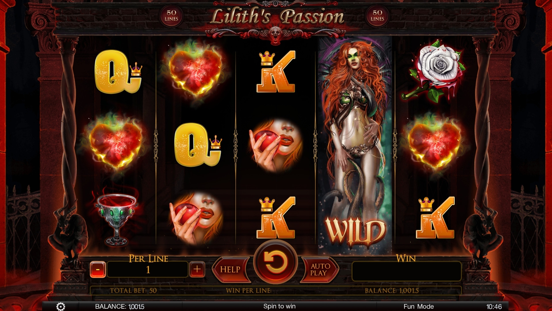 Lilith's Passion (Lilith's Passion) from category Slots