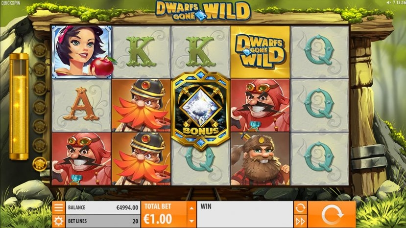 Dwarfs Gone Wild (Dwarfs Gone Wild) from category Slots