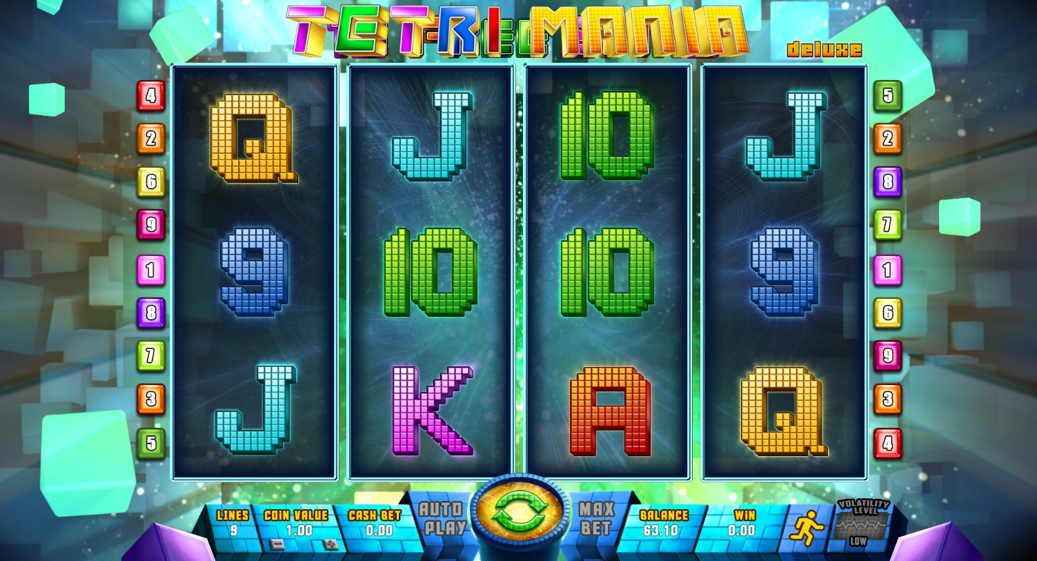 Tetri Mania Deluxe (Tetri Mania Deluxe) from category Slots