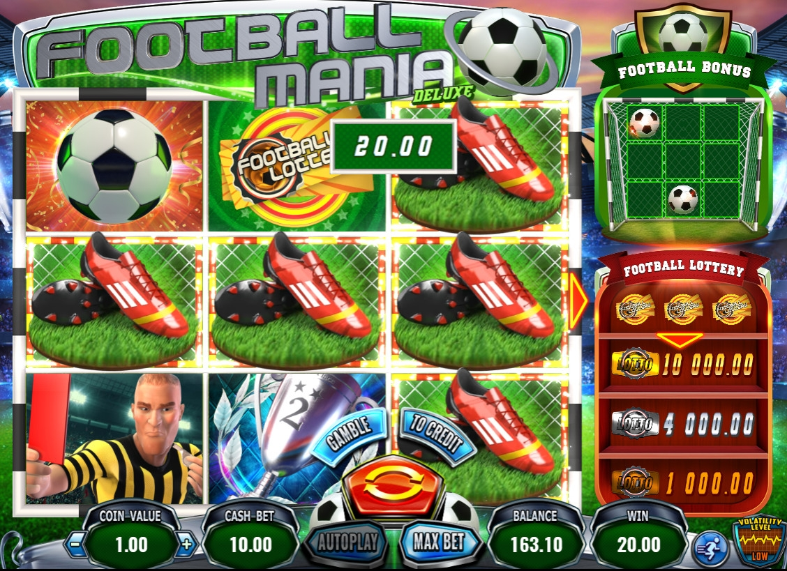 Football Mania Deluxe (Football Mania Deluxe) from category Slots