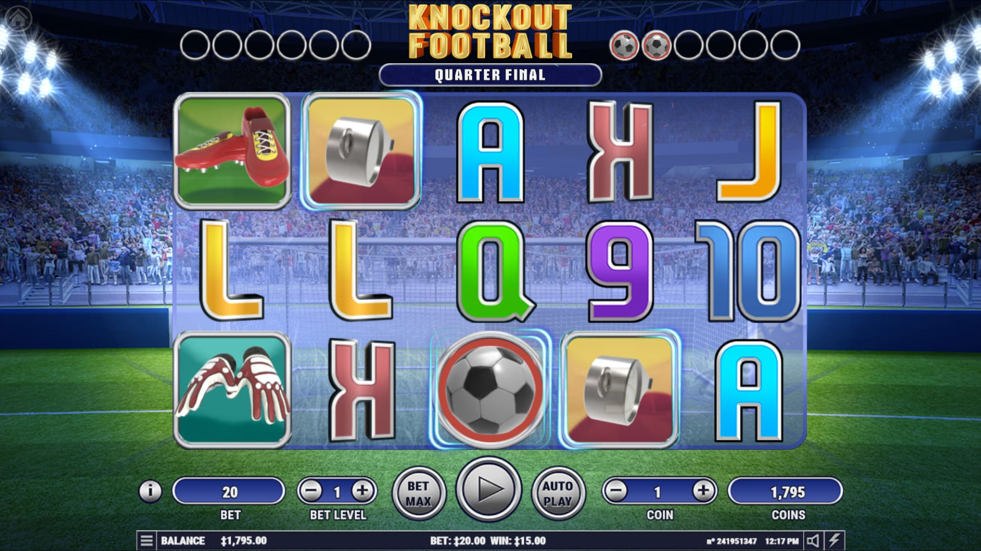 Knockout Football (Knockout Football) from category Slots