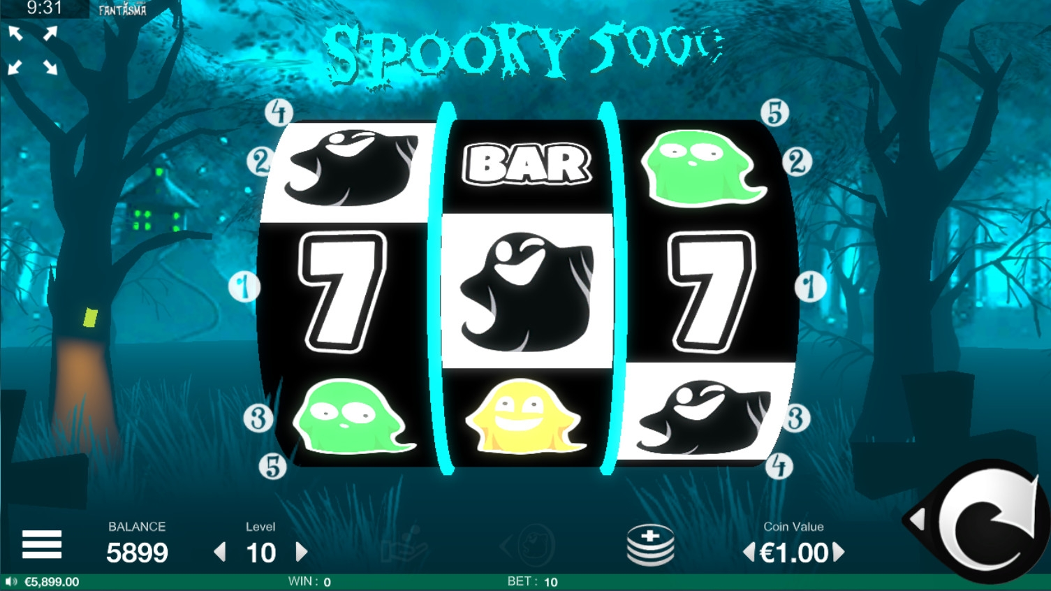Spooky 5000 (Spooky 5000) from category Slots
