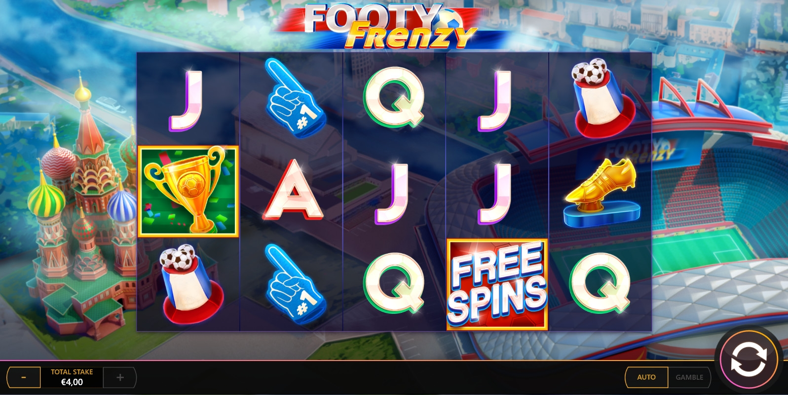 Footy Frenzy (Footy Frenzy) from category Slots