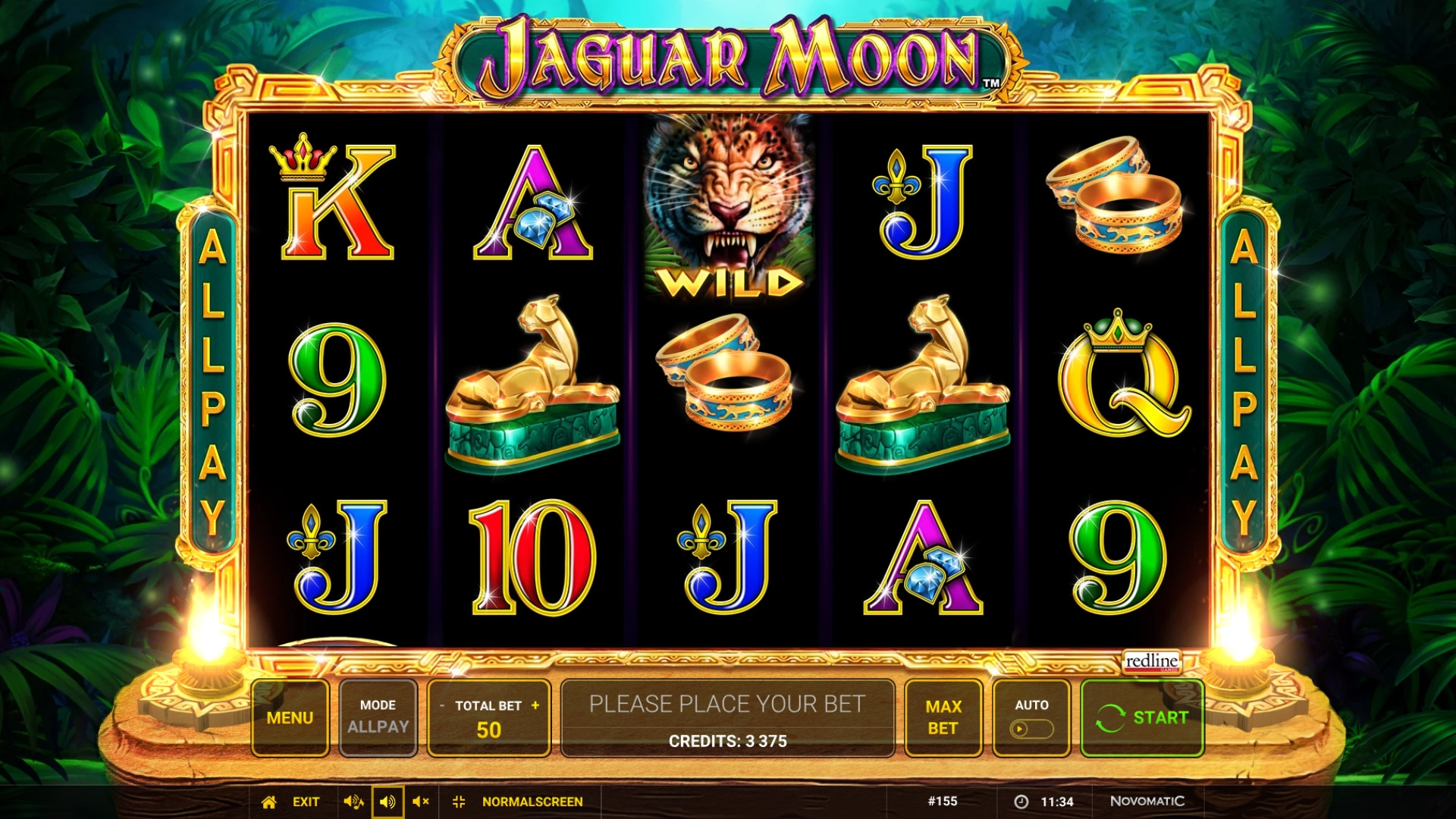 Jaguar Moon (Jaguar Moon) from category Slots