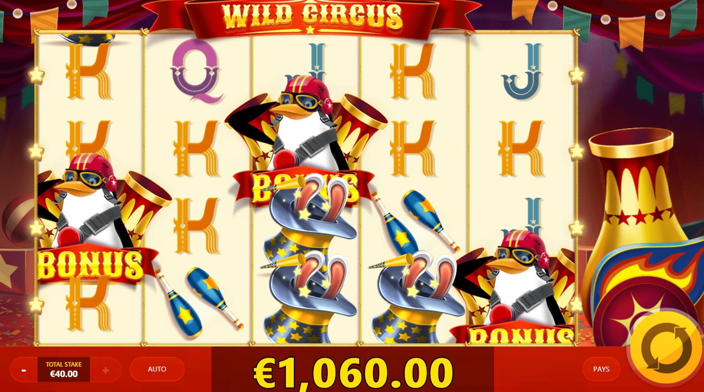 Wild Circus (Wild Circus) from category Slots