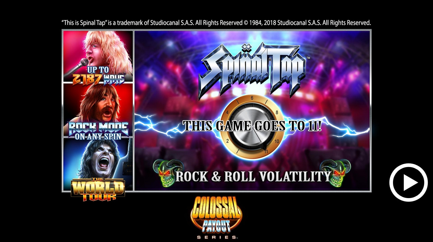 Spinal Tap (Spinal Tap) from category Slots