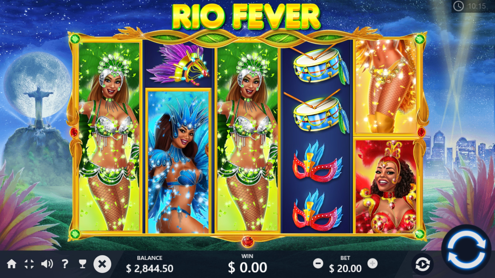 Rio Fever (Rio Fever) from category Slots