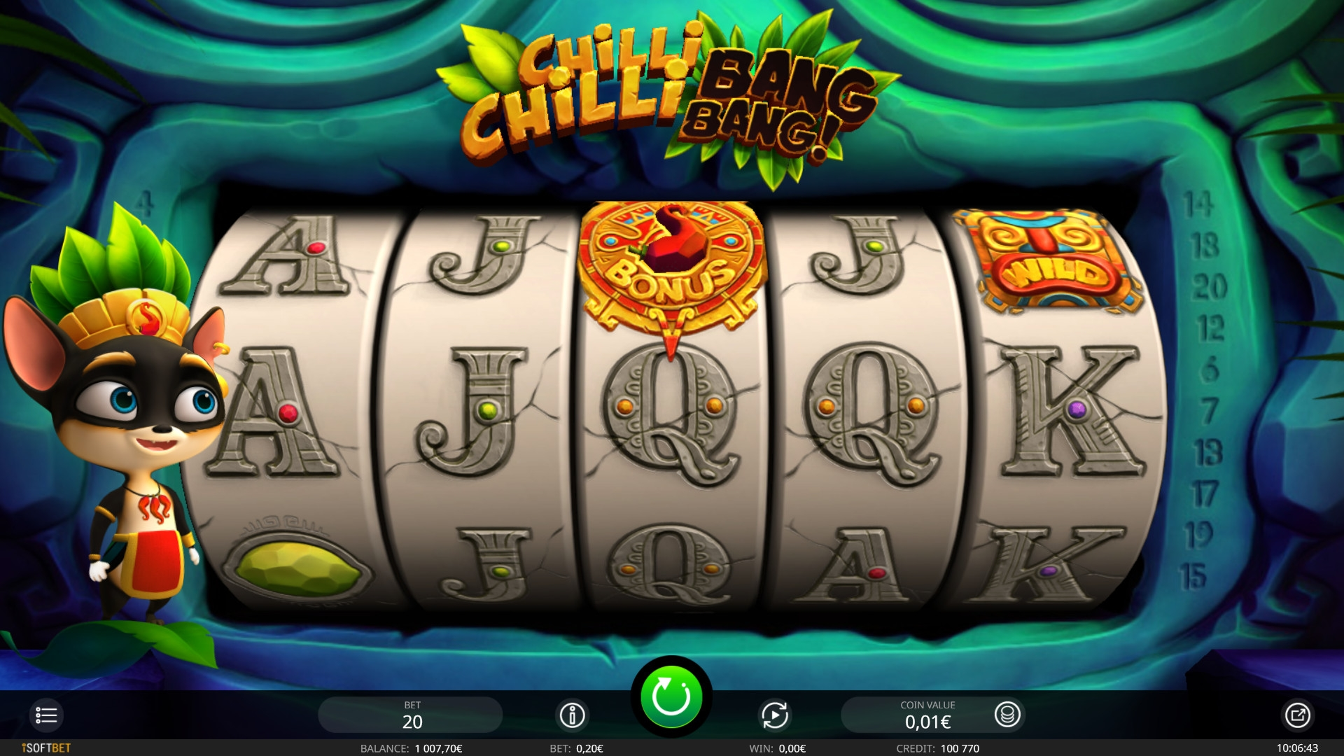 Chilli Chilli Bang Bang (Chilli Chilli Bang Bang) from category Slots