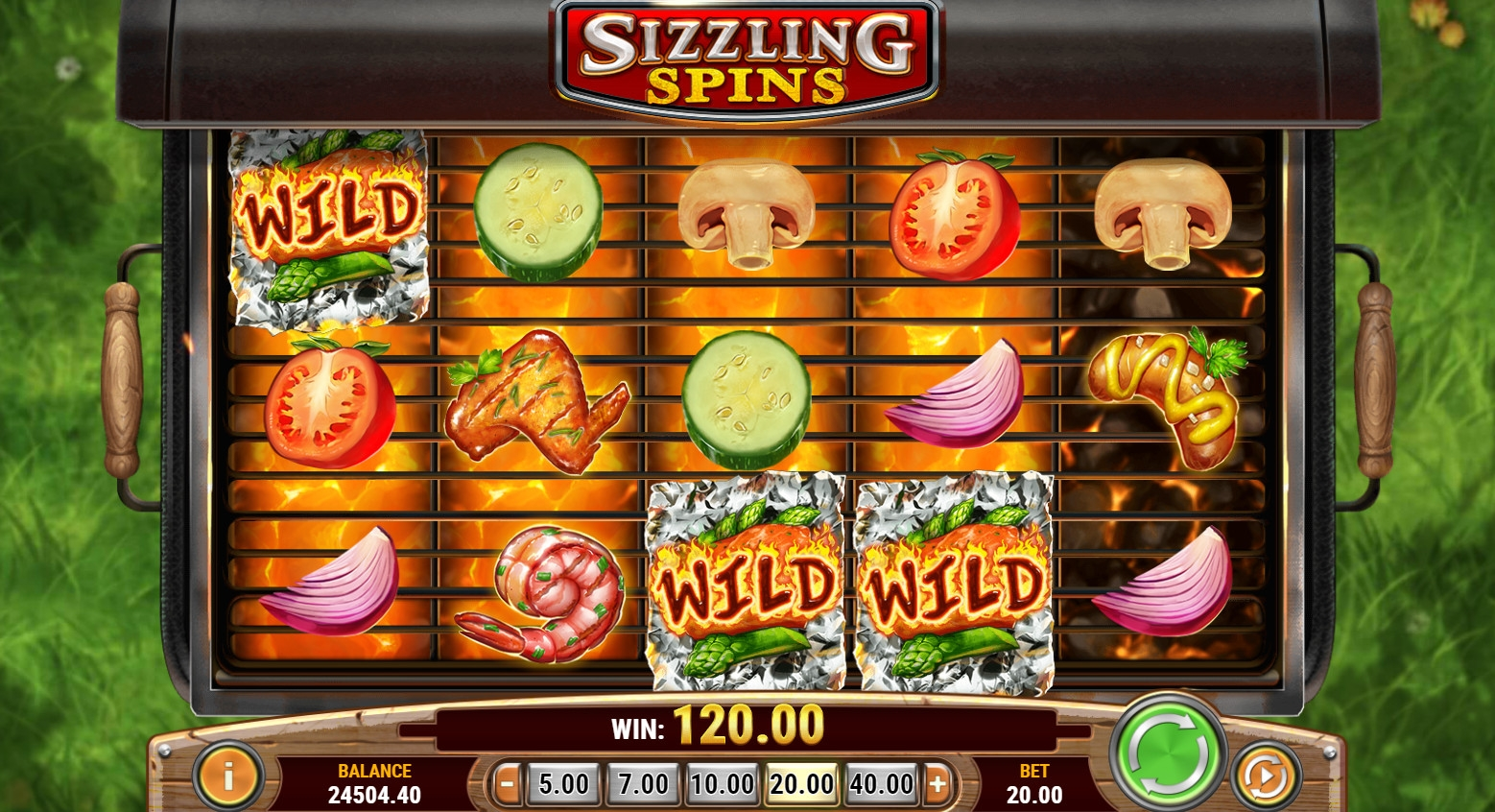 Sizzling Spins (Sizzling Spins) from category Slots