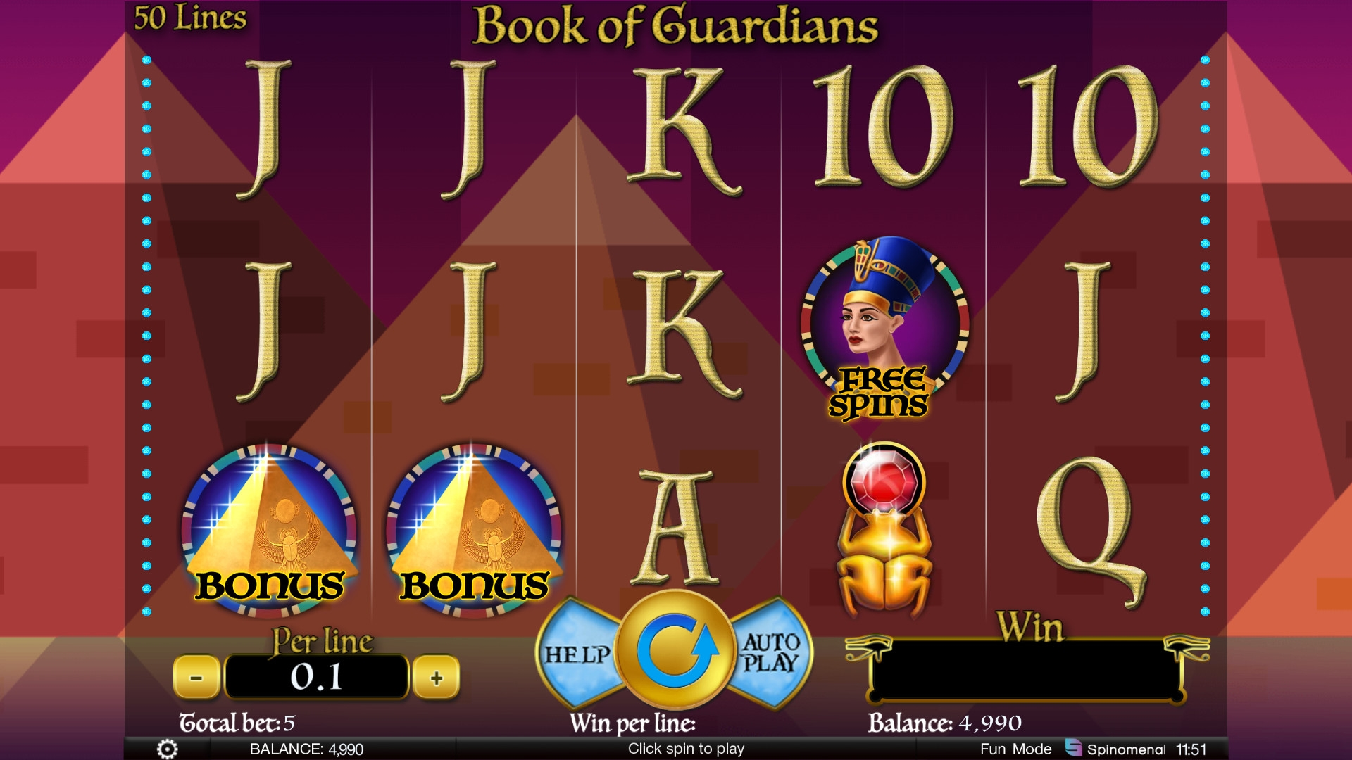 Book of Guardians (Book of Guardians) from category Slots
