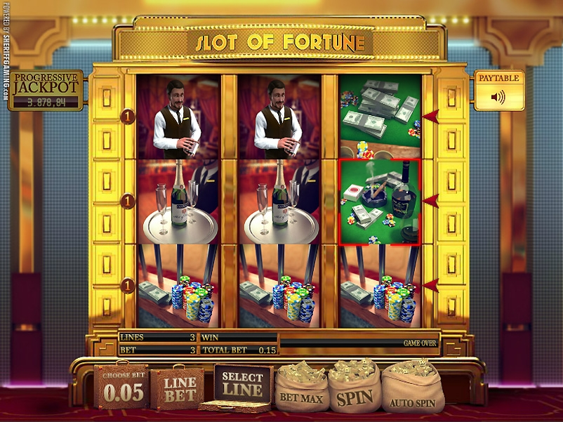 Slot of Fortune (Fortune of Wheel) from category Slots