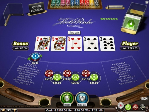 Let It Ride Poker – Professional Series  (Let It Ride Poker - Professional Series) from category Poker